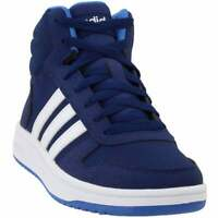 adidas Hoops Mid 2.0 (Little Kid/Big Kid)  Casual Basketball  Shoes Blue Boys -