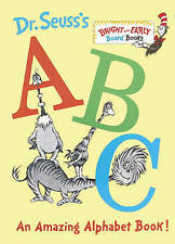 NEW Dr. Seuss's ABC By Dr. Seuss Board Book Free Shipping