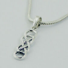 USA Seller Celtic Knot Pendant Sterling Silver 925 Best Deal Plain Jewelry Gift