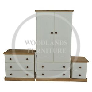 HAND MADE KIDDIES COUNTRY 3 PIECE BEDROOM SET (MANY COLOURS) ASSEMBLED