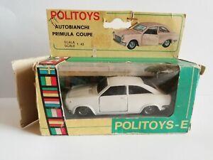 POLITOYS-E AUTOBIANCHI PRIMULA COUPE' SCALA 1/43