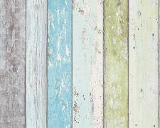 A.S.Crèation  Vlies Tapete 8550-77 855077 Best of Wood&Stone Holzoptik Blau