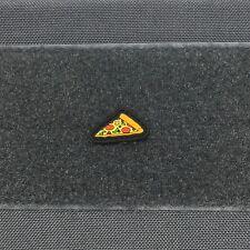 Slice of Pizza Cat eye pvc morale patch - ranger pie dominos papa johns shakeys