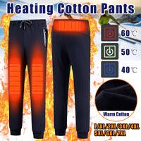 Pantalon Chauffant électronique USB Pantalons de Survêtement Pr Femme Homme