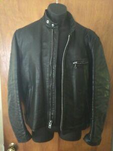 Schott cafe racer jacket vintage