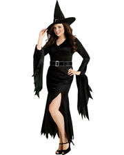 Gothic Witch Wicked Halloween Women Costume Plus Size