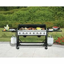 8 Stainless Steel Burner Commercial BBQ Propane Gas Grill 116K |NO SALES TAX|