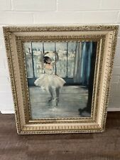 Edgar Degas Color Print By Abrams In Holland, Dancer Posing For The Photographer