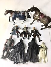 Lot of 9 NLP Marvel Lord Of The Rings LOTR Action Figures Horse