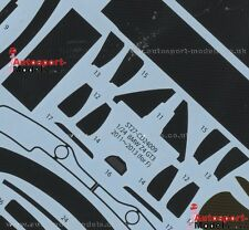 1/24 BMW Z4 GT3 templated carbon fibre decal set ~ Studio 27 CD24009