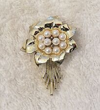 Leaf Blooming Flower Floral Garde Vl-M Classic Pin Brooch Sunflower Flower Petal
