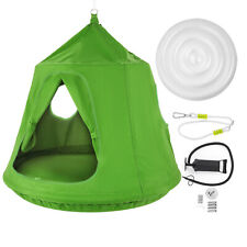HearthSong Family HugglePod HangOut Hanging Pod for Entire Family, in Green