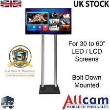"FS400BD Bolt Down TV Floor Stand w/ Bracket for 30-60"" Screens with 1.4 m Poles"