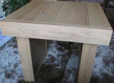Oak Square Side & End Tables