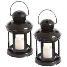 """Wyndham House™ 2pc 6"""" LED Candle and Lantern Set batteries included"""