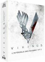 COFFRETS DVD NEUF SERIE HISTORIQUE : VIKINGS - SAISON 1 A 2 - FRANCAIS & ANGLAIS