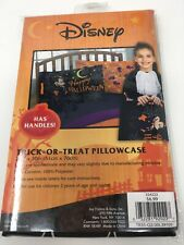 New listing Disney Mickey Mouse trick-or-treat pillow case with handles