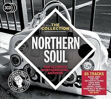 'NORTHERN SOUL - THE COLLECTION' (Best Of) 3 CD SET (2016)