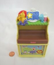 FISHER PRICE Loving Family Dollhouse MUSICAL CHANGING TABLE BABY NURSERY #2