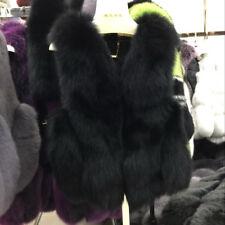 2019 Women Real Fur Vests Short Gilets New Waistcoat Lady Winter Warm Coat 31678