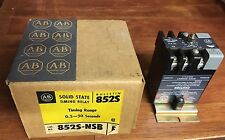 Allen-Bradley 852S-NSB Solid State Timing Relay New in Box Old Stock NIB