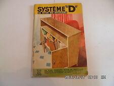 SYSTEME D N°142 10/1957 JEU DE COURSE AUTOMOBILE COMPRESSEUR AVION COMMANDE  D85