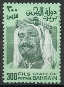 Bahrain 1976 300f green used *COMBINED SHIPPING*