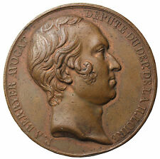 1832 France Piere Berryer commemorative Meda By Barre & Durand