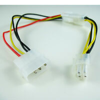 "12/"" Molex P4 to Standard Molex ATX Power Supply Adapter Canada"
