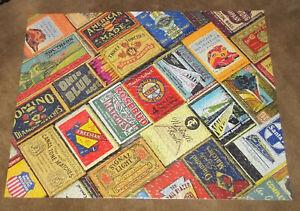 Springbok  500 Piece Puzzle Titled Matchbox Railroad Train Advertising
