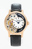 Epos - Limited Edition Skeleton with Pulsometer men's Watch - 3435F-RG-BLK-V2