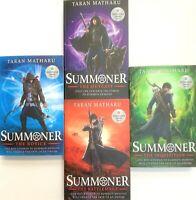 Taran Matharu The Summoner 4 Books Collection Set-Brand New