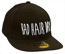 Men Women Snap Back Cap Baseball caps Adjustable Strap Snap Back Bad Hair Day