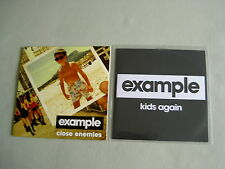 EXAMPLE job lot of 2 promo CD singles Close Enemies Kids Again (Remixes)