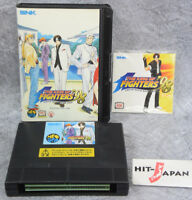 THE KING OF FIGHTERS 98 Ref/1938 NEO GEO AES SNK neogeo JAPAN No Material book