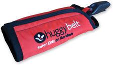 HuggyBelt Toddler Child Safety ISOFIX  Seat belt Positioner - Red