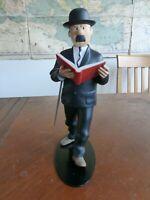 Tintin - Thomson with Book (Dupond Livre) - Leblon Moulinsart 2006 ref : 45944