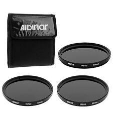 58mm Infrared IR 720 850 950 Lens Filter Kit for Sony DCR-VX2000, PD170 Camera