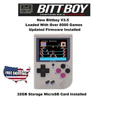 New BittBoy V3.5 Handheld with 32Gb Fully Loaded Ready To Play