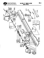 "Delta Rockwell 46-230 11"" Wood Lathe (Old Style) Instructions"