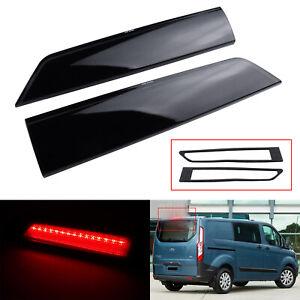 2x For FordTransit Custom Barn Door 12+ Rear LED High Level 3rd Brake Light Red