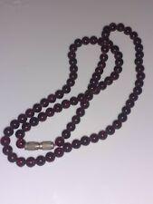 Garnet Bead Necklace Beautiful Antique victorian