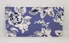 Cath Kidston Etched Floral Fabric Handmade Pencil Case Make Up Bag Storage Pouch