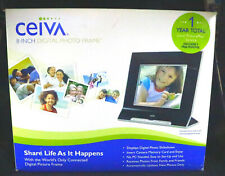 """CEIVA 8"""" Digital Picture Frame Interchangeable Face Plate Share Photos - in box"""