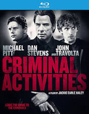 Criminal Activities (Blu-ray Disc, 2016) NEW w/SLIP John Travolta XENU!!!!