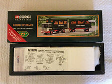 Corgi Classics 97369 - Eddie Stobart - AEC Truck and Trailer with Figures