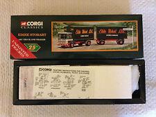 CORGI CLASSICS 97369-Eddie Stobart-AEC camion et remorque avec chiffres