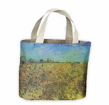 Vincent VAN GOGH IL VERDE Vineyard Tote Shopping Bag for Life