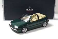 1:18 Norev VW Golf 3 III Cabriolet dark green NEW bei PREMIUM-MODELCARS