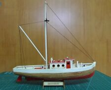 Nice Laser Cut wooden model kits scale 1/66 NAXOS fishing boat wooden model